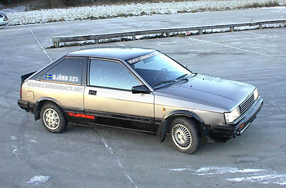 nissan cherry turbo, swedens fasteest fwd